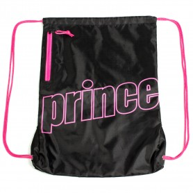 Prince Nylon Black/Fuchsia