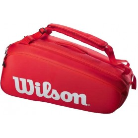 Wilson Super Tour 9 Pk Red