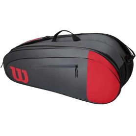 Wilson Team 6Pk Red/Gray