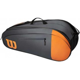 Wilson Team 6Pk Grey/Orange