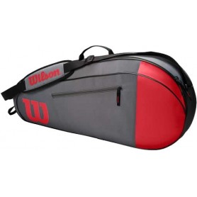 Wilson Team 3 Pk Red/Gray
