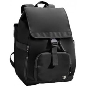 Wilson Women Foldover Backpack Black