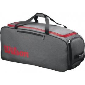 Wilson Traveler Whiteeeled Coach Duffel Grey