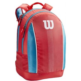Wilson Juni Orange Backpack COrangeal/Blue/White
