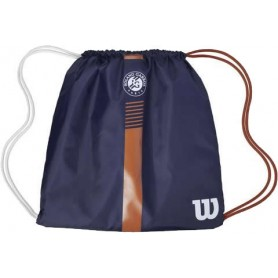 Wilson Roland Garros Cinch Bag Navy/Clay