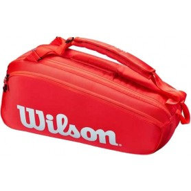 Wilson Super Tour 6 Pk Red