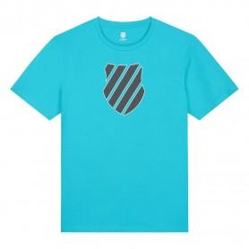 K-Swiss Camiseta Hypercourt Logo Scuba Blue
