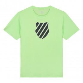 K-Swiss Camiseta Hypercourt Logo Green