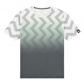 K-Swiss Camiseta Hypercourt Print Crew Lunar Rock