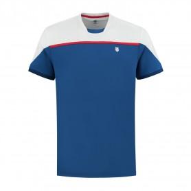 K-Swiss Camiseta Hypercourt Block Crew 2 Blue