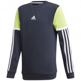 Adidas Sudadera Cuello Redondo Bold Black/Green