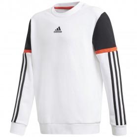 Adidas Sudadera Cuello Redondo Bold White