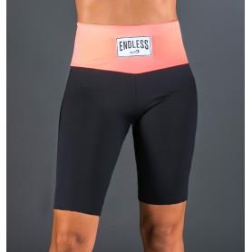Endless Short Cycling Label -Black Coral