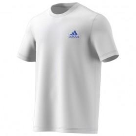 Adidas Camiseta Hombre Graphic Logo Blanco