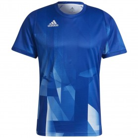 Adidas Camiseta Freelift Gr Tokyo  Primeblue Heatrdy Azul