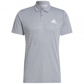 Adidas Polo Heat Ready Gris