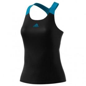 Camiseta Tirantes Adidas Primeblue Aeroknit Mujer Negro