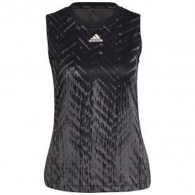 Camiseta Tirantes Adidas Primeblue Mujer Gris