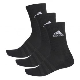Adidas Calcetin Cush 3Pp Negro/Negro