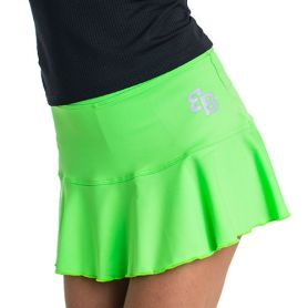 Falda Basica Bb  Mujer Verde
