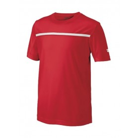 CAMISETA WILSON B TEAM CREW JUNIOR ROJA
