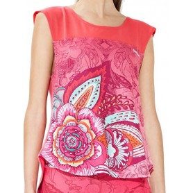 CAMISETA SLEEVELESS PAISLEY